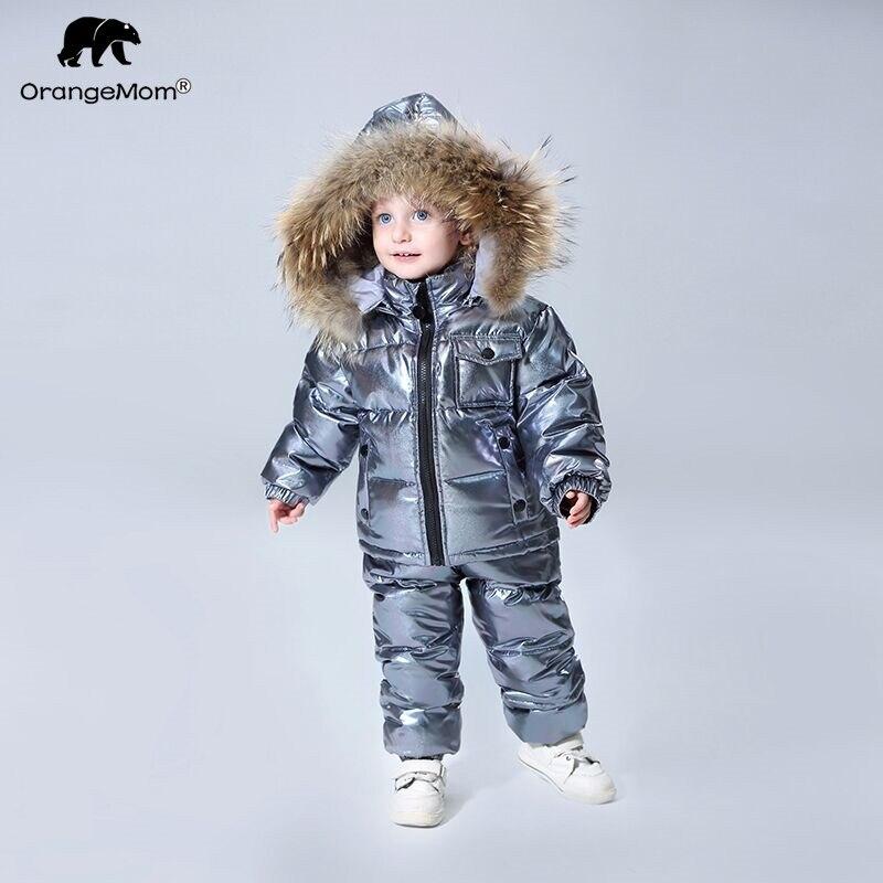 Orangemom/2018 г. официальный магазин, зимние комплекты детской одежды, пуховая одежда для мальчиков, Детская верхняя одежда и пальто для девочек, ...