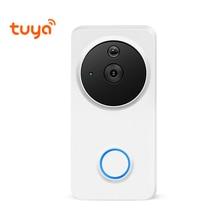HD IP54 Waterproof Outdoor Wireless Wi-Fi Wire-Free Smart Video Doorbell Intercom Camera WiFi Tuya