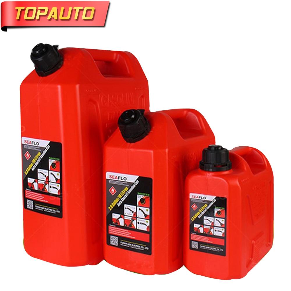 5L 10L 20L Litre Mount Motorcycle Spare Fuel Tank Jerry Cans Plastic Car Petrol Tanks Jerrycan