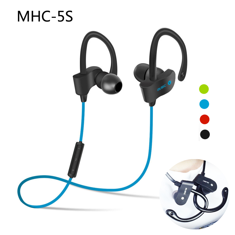 MHC Wireless Bluetooth Headset In-Ear Earphones  with Mic Sport Earphone for iPhone Android Phone Hifi Stereo Earbuds