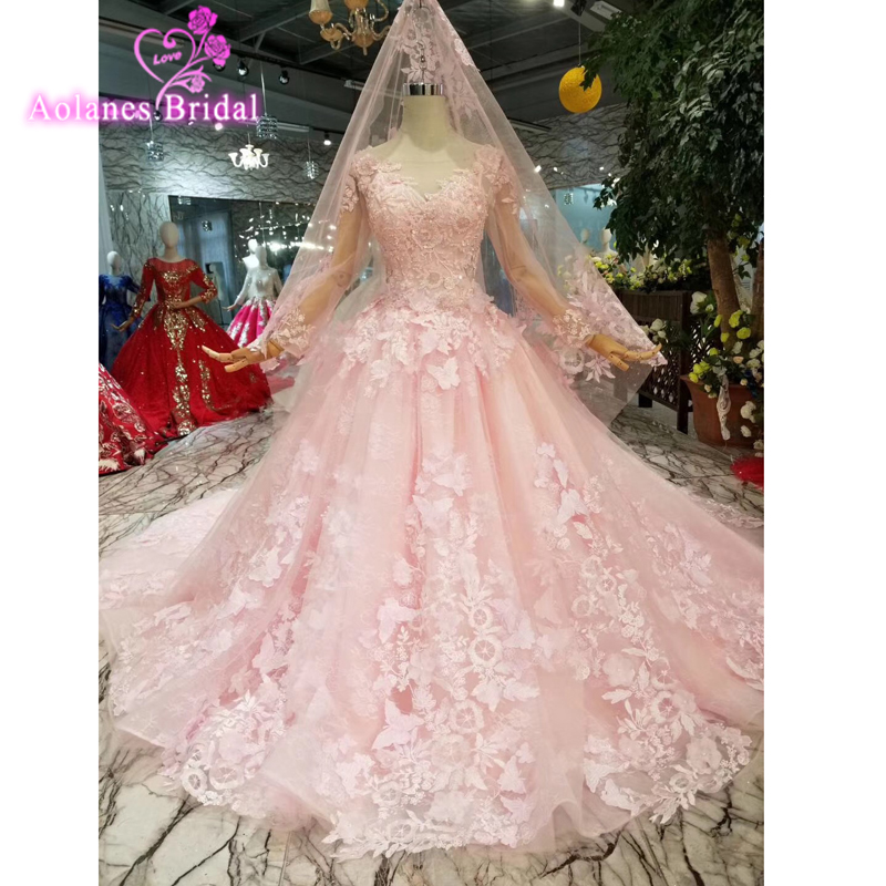 New Off The Shoulder Dress Sweet 16 Quinceanera Dresses Ball Gown Long Prom Dress Lace Appliques Pink 3d Flowers Party Gowns