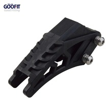 GOOFIT Black 420 428 Chain Guide Guard Protector Fit CRF 250 R EXC YZF KXF KTMX for BSE Bosuer Dirt Bike Pit