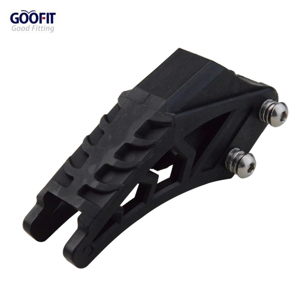 GOOFIT Black 420 428 Chain Guide Chain Guard for CRF 250 R EXC CRF YZF KXF KTMX for BSE Bosuer Dirt Bike Pit Bike A012-603 image