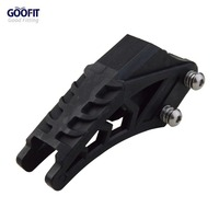 GOOFIT Black 420 428 Chain Guide Chain Guard Protector Fit CRF 250 R EXC CRF YZF