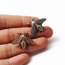 Broches de abelha para homens e mulheres, retrô, bonito, pequena, abelha, inseto, acessórios, agulha para festa, joias
