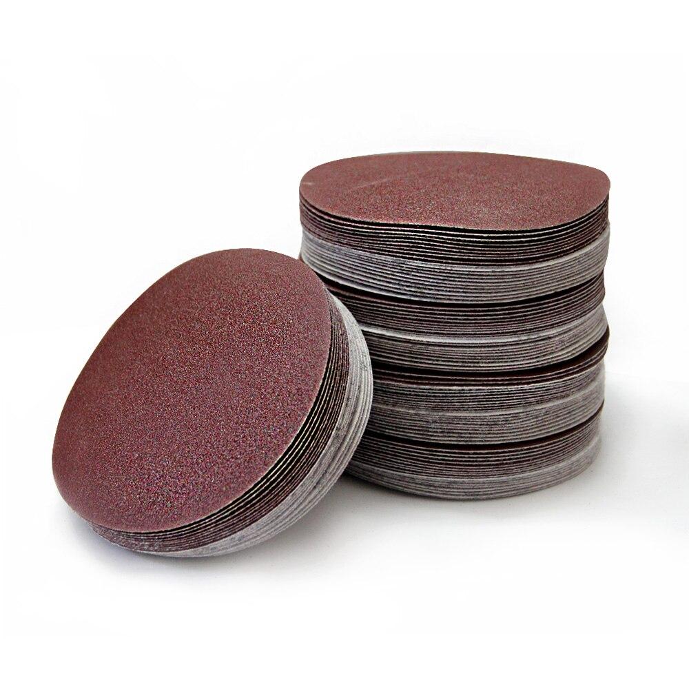 """9/"""" 225mm Sandpaper 60-1200 Grit Hook Loop Sand Paper Sanding Discs Pads Car Wood"""