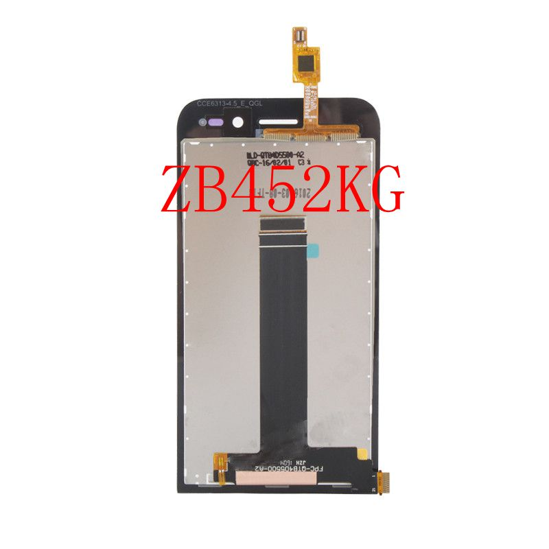 4.5 Black For Asus Zenfone Go ZC451TG/ZB452KG Display Lcd Screen With Touch PanelGlass Digitizer Assembly replacement