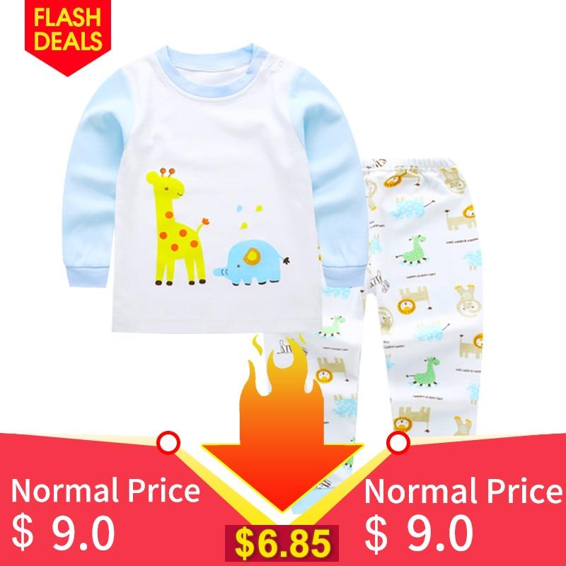 9ebc5d164 Товар Pyjamas Kids Children Toddler Boys Clothing set Baby Boys ...