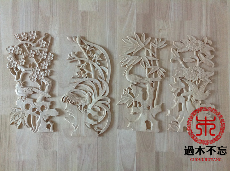 Dont forget the wooden wood carving of Dongyang meilanzhuju Decal door flower Window Decal Decals c.flower fireplace fortune seDont forget the wooden wood carving of Dongyang meilanzhuju Decal door flower Window Decal Decals c.flower fireplace fortune se
