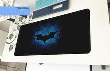 Бэтмен геймерский коврик для мыши восхитительный 700x300x3 мм игровой коврик для мыши Большой Прохладный новый ноутбук аксессуары ноутбук padmouse эргономичный коврик