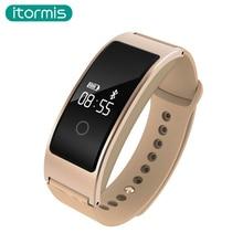 Itormis B16 SmartBand Фитнес браслет шагомер Фитнес трекер сердечного ритма Мониторы крови кислородом трекер для IOS Android A06