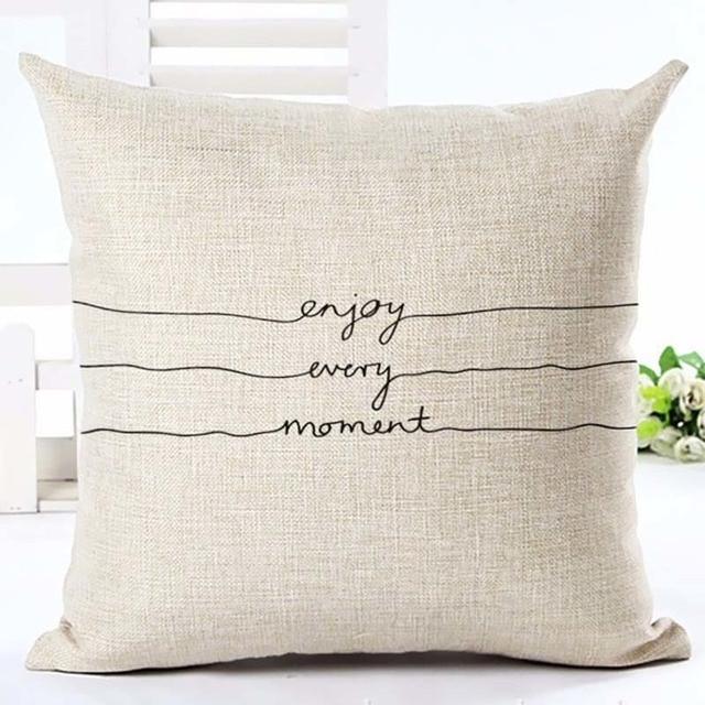Home Linen Pillowcase Size: 45cm WT0057 Color: 3