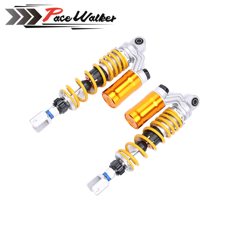 1XPair 320mm/12.5'' Motorcycle modified Adjust damping Nitrogen Shock Absorbers Rear Suspension For Scooter BWS all keoghs motorcycle front shock absorbers front fork tube suspension 26mm 27mm for yamaha scooter jog rsz force