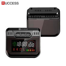 Ruccess Anti Radar Detector with GPS Speed Camera Hidden Design 360 Degree X Ka L CT 2 in 1 Car for Russia