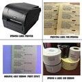 IOS Телефон решение с 300 точек/дюйм передачи наклейка принтер машина обеспечить профессиональную техническую поддержку для 6/6 s imei label