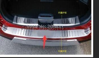 Acciaio inossidabile Paraurti Posteriore protector interno + esterno Davanzale del Portello Del Piatto Scuff 2 pz Per Nissan Rogue X-Trail 2014 2015 2016