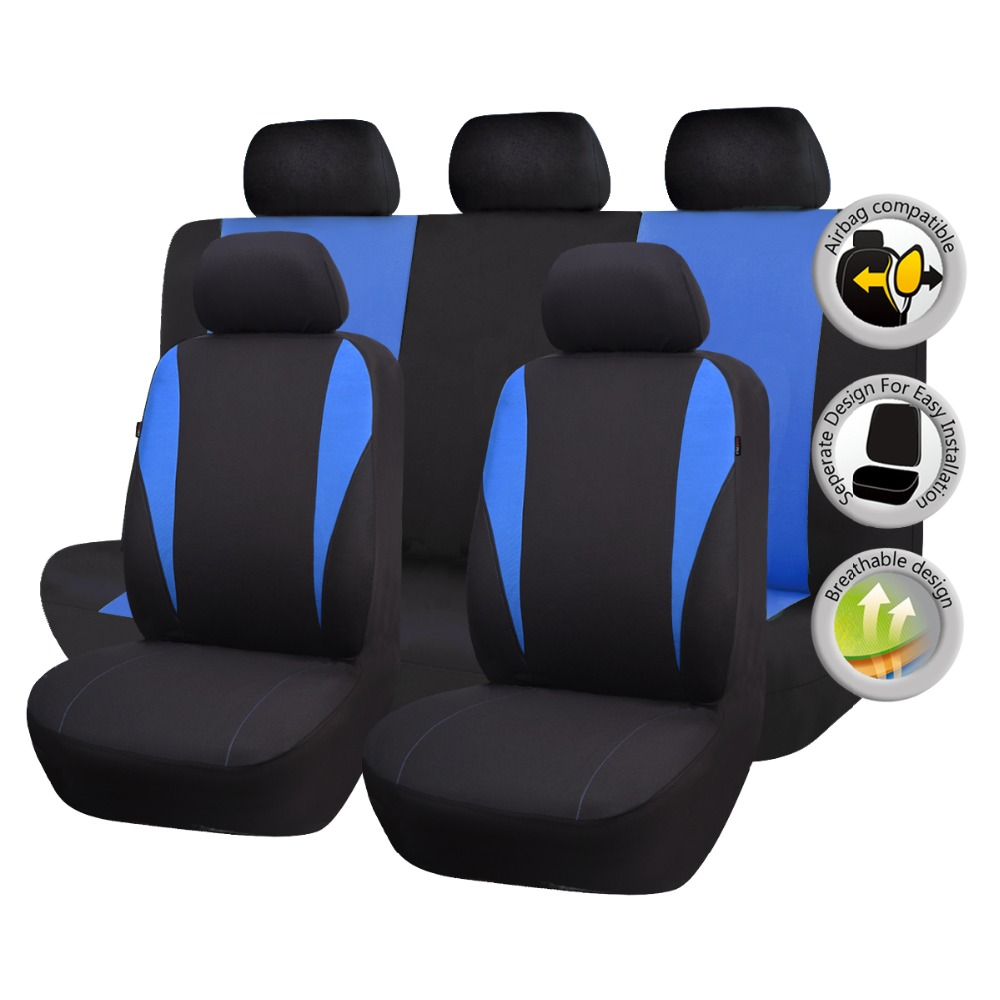 2019 Update Automobiles Seat Covers Protectors Easy Installation Washable Airbag Compatible Universal Car Styling Low Bucket