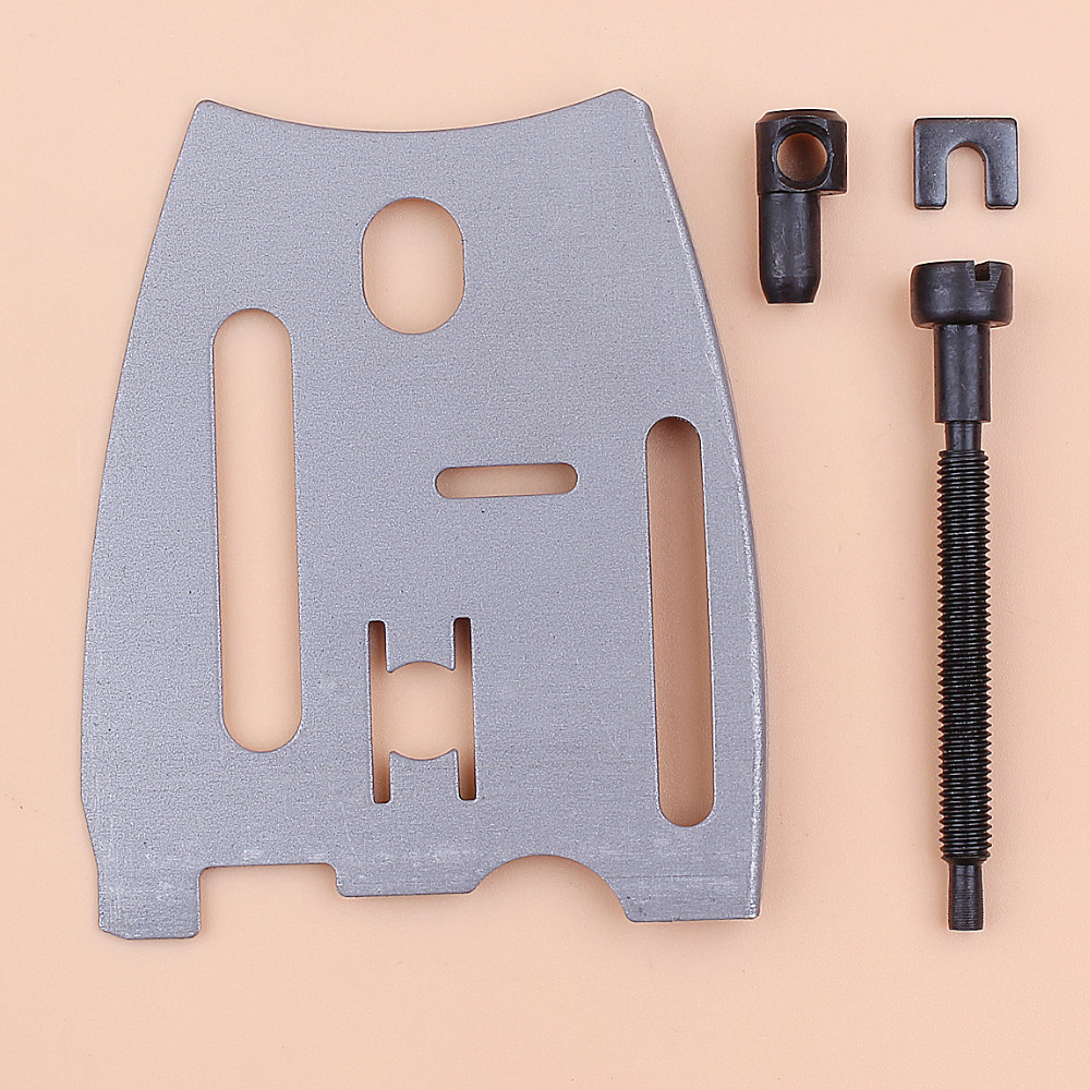 Bar Plate Guide Chain Adjusting Screw Tensioner Set Fit Husqvarna 61 66 181 266 268 Special 272 272XP 281 288 Chainsaw