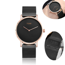 77ebbed53116f Men Watches 2018 luxury Creative Rose Gold Steel Luxury Quartz Wrist Watch  Male Clock With Leather
