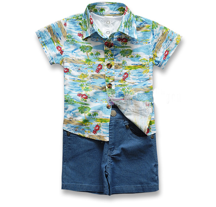 Baby Boy Fashion Trends Jeans With Tops Boys Clothes 5th Birthday Clothing Set Back To School Shirt And Shorts 2 Piece In Sets From Mother Kids