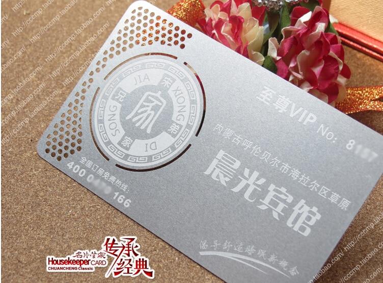 Us 116 36 15 Off Metallic Farbe Metall Visitenkarten 100 Stücke Viel Deluxe Metall Visitenkarte Vip Karten Doppel Side Kostenloser Versand No
