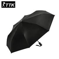 Hot sale men business automatic umbrella male classic black coating parasol sunny and rainy paraguals Anti UV 3 folding sunshade