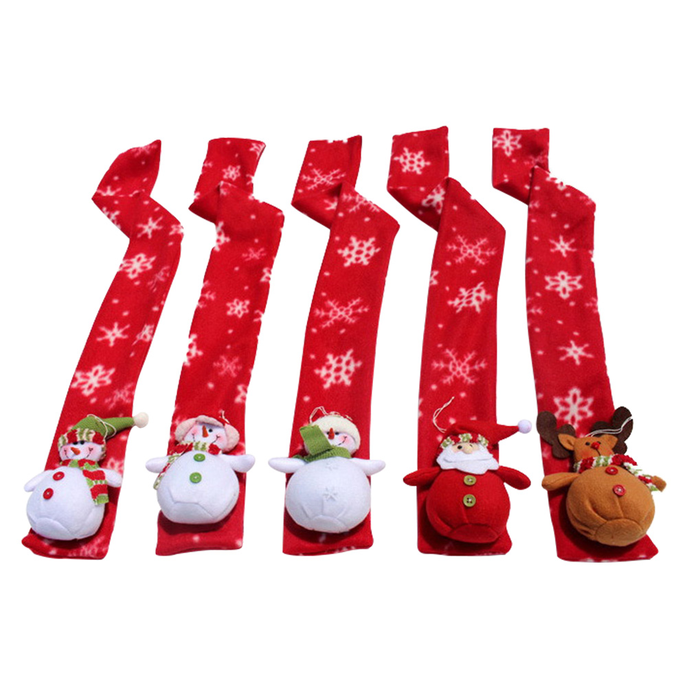 Novelty & Special Use 5 Pcs Christmas Scarf Snowman Santa Claus Deer Doll Kids Baby Soft Warm Wraps Shawl Adult Winter Warm Cartoon Xmas Gift Scarves To Win Warm Praise From Customers Costumes & Accessories