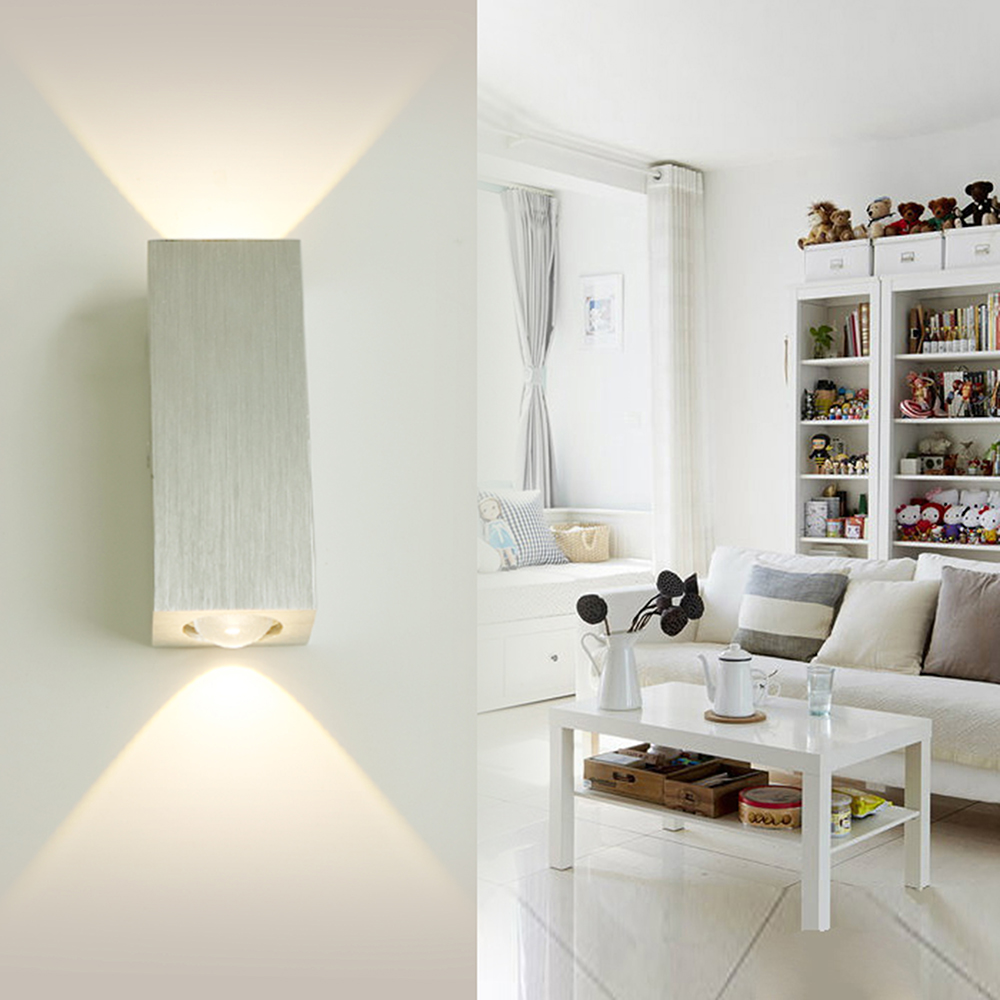 ᗑSconce lámparas de pared de luz Modern Room Decor 2 W 6 W AC85 ...