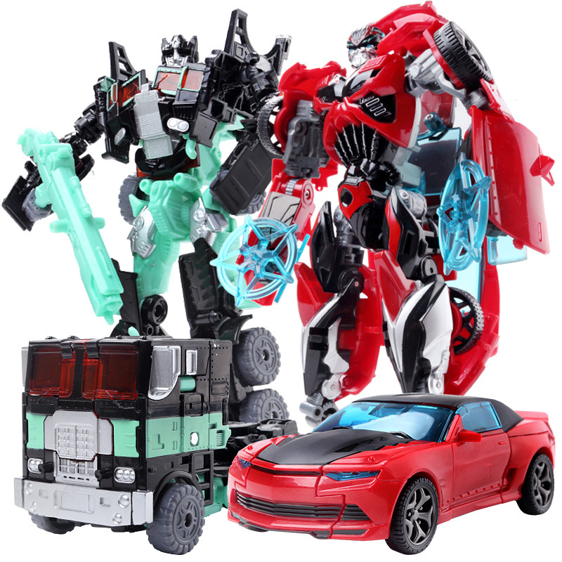 Top Sale 19 5cm Model Transformation Robot Car Action toys Plastic Toys Action Figure Toys BEST