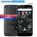 Doogee t6 pro telemóveis 5.5 polegada hd 3 gb de ram + 32 gb rom android6.0 Dual SIM Octa Núcleo 13.0MP 6250 mAH MTK6753 LTE WCDMA WIFI GPS