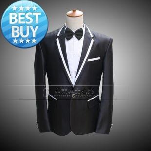 Suits Slim-Fit Blazers Jacket Dress Wedding-Tuxedos Fit-Designed Formal Men's Stylish