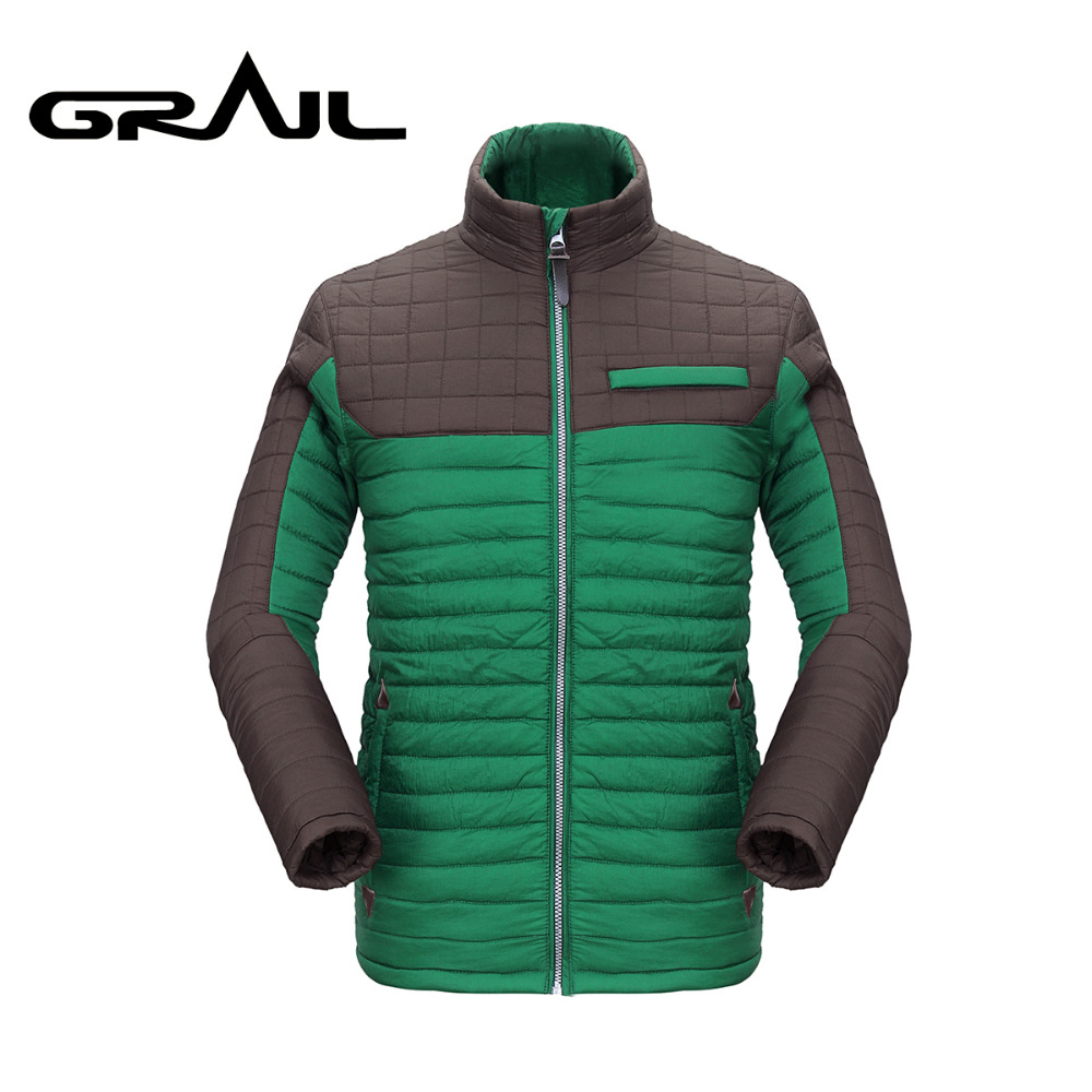 GRAIL Men Thermal Hiking Sport Jacket of Male Outdoor Ski Jacket Poly-Filled Cotton Padding Coat Parkas 6019AGRAIL Men Thermal Hiking Sport Jacket of Male Outdoor Ski Jacket Poly-Filled Cotton Padding Coat Parkas 6019A