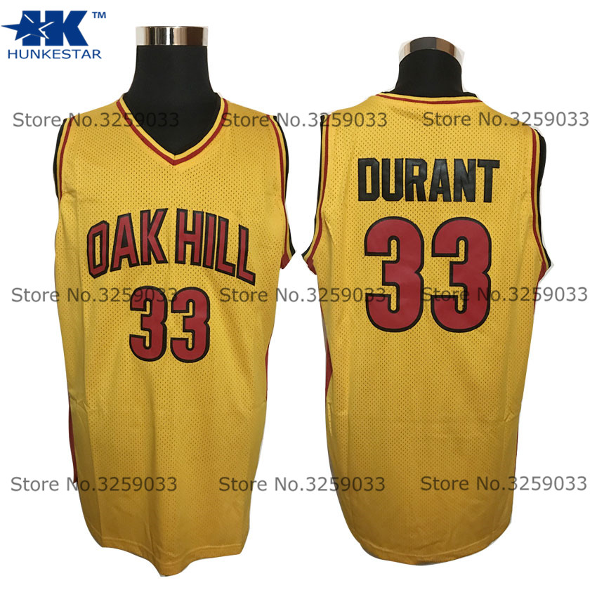 3b89f837c Mens Kevin Durant Jersey  33 Oak Hill High School Throwback Basketball  Jersey MAN Basket Uniforms Stitched Trikots Shirts-in Basketball Jerseys  from Sports ...