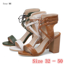 Peep Toe Women High Heel Gladiator Sandals Shoes Woman High