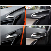 ABS Chrome For MG GS 2015 2016 2017 accessories car styling Car inner door Bowl protector frame Cover Trim
