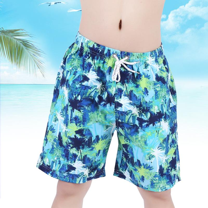 Fashionable Men Pants Short Trousers Swimwear for Swimming Surfing bodybuilding swimming trunks Geometric mens bathing suit men ...