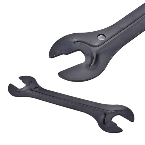 Carbon Steel Bike Head Open End Axle Hub Cone Wrench Spanner Bike Repair Tool SA