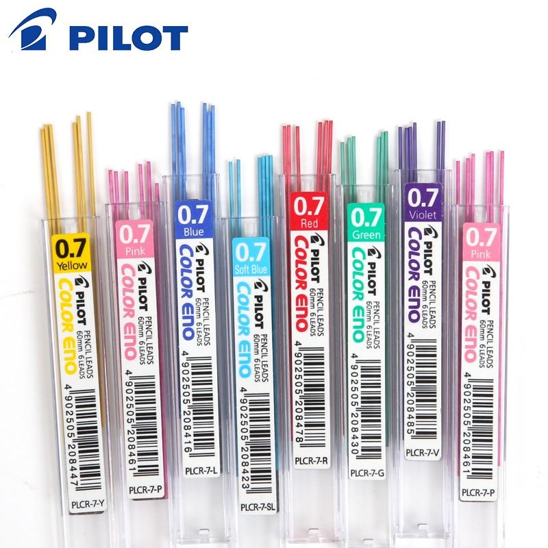 12 tubes Light Blue 6 leads =1 tube Pilot 0.7mm color eno pencil leads