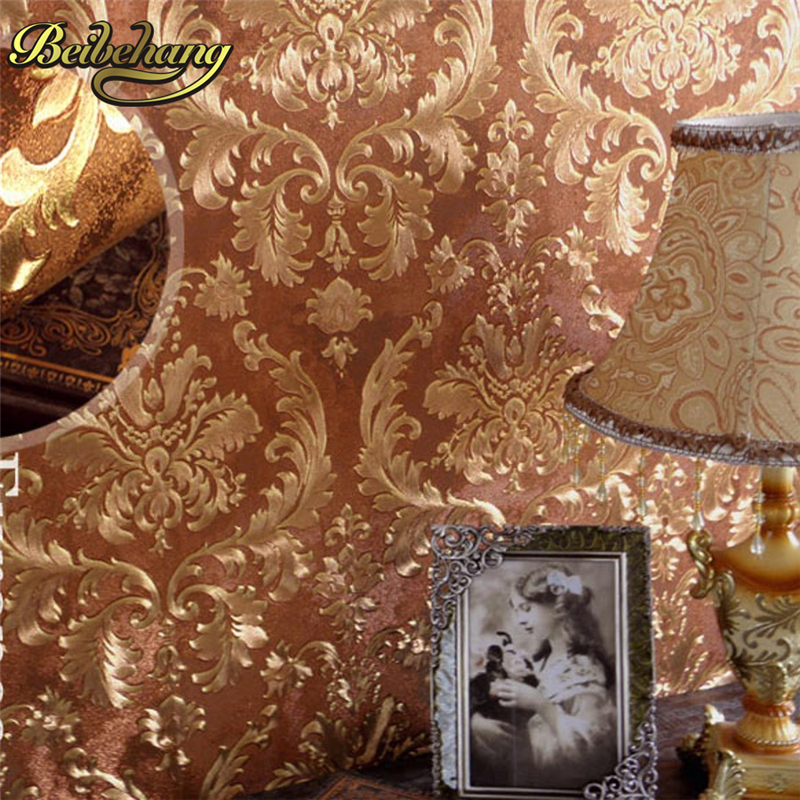 beibehang gold coffee papel de parede 3d wallpaper roll TV background gold foil wall paper KTV 3d modern wallpapers papel parede beibehang european luxury gold foil wallpaper 3d floral striped wallpaper roll living room tv wall paper papel de parede roll