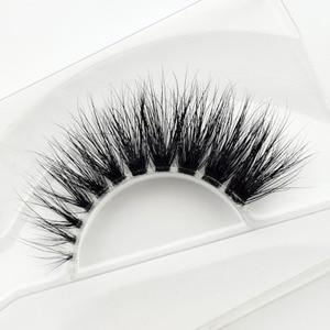 Image 5 - Visofree Mink Lashes 3D Mink Eyelashes Invisible Band Natural Black Mink False Eyelash Full Strip cilios posticos Reusable F2
