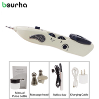 New Beurha Electric Meridian Point Pen Automatic Meridan Detect Nerve Muscle Stimulator Diagnosis AcupunctureMassage Relaxation