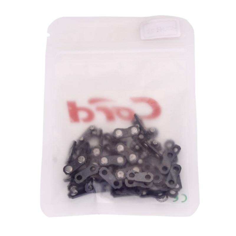 043 1,1mm 20 Sets Kabel Kettensäge Ketten Schnalle 3/8 P St Typ Für Benzin Sah Ketten Und Verdauung Hilft