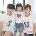 2016 Family Look T-shirt Matching Mother Daughter Son Clothes Family Matching T-shirt Parent-child Outfit Boy And Mums Mae Filha