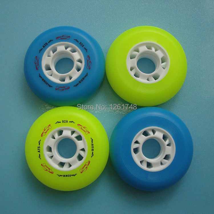 8PCS Free Send 92A skates wheels 72mm76mm80mm