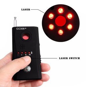 Image 5 - CC308+ Mini Anti Spy RF Signal Radio Freqency Detector Hidden Camera Laser Lens GSM Device Finder Detector