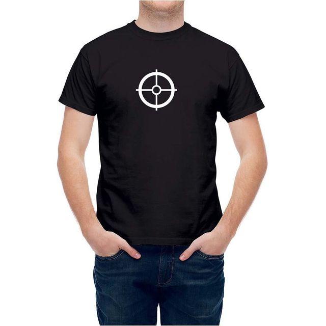 6c475d62 T Shirt Archery Shooting Aim Target Bullseye Mens Tops Cool O Neck T-Shirt  Top Tee Men T-Shirt Lowest Price 100 % Cotton