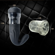 Automatic Telescopic Male Masturbation Cup Artificial Vagina Pocket Pussy Toys 4-speed Rotating Adult sex toys For Men