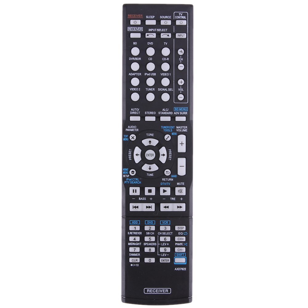 Universal AV Receiver Remote Control Replacement Remote Control All Functions For Pioneer VSX-521/AXD7660/VSX-422-K/AXD7662 набор для домашнего кинотеатра attitude echo 5 0 vsx 330 k
