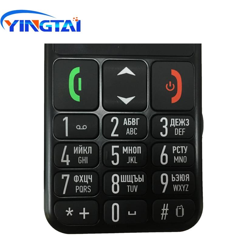 Image 4 - YINGTAI T11 Elder Cellphone best feature senior phone 2.2 inch FM  Torch speed dialSOS big Push Button Speaker Russian Keypad  GSMCellphones