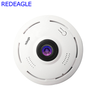 REDEAGLE 360 Degree FishEye 3D VR Wifi Camera HD 1080P 960P Mini Wireless Panoramic Security Cameras